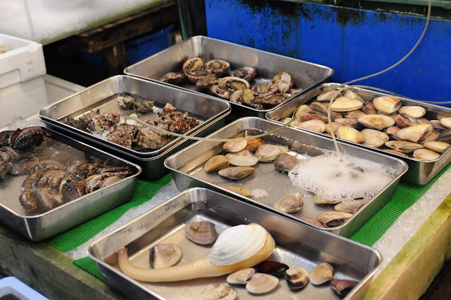 Visiting Tokyp Tsukiji Fish Market