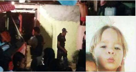 Criança de dois anos morre queimada após carregador de telefone explodir em São José da Lage