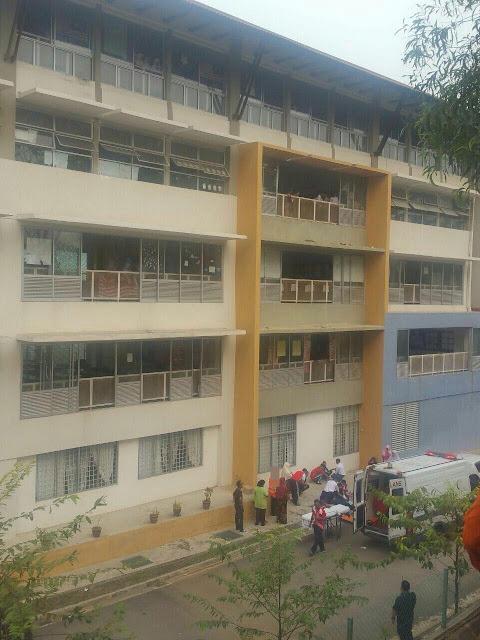 Pelajar Ting. 3 SMK Presint 9 (2) Jatuh Bangunan Ketika Cuba Bantu Ambil Beg Kawan. Sama-sama Sedekahkan Al-Fatihah