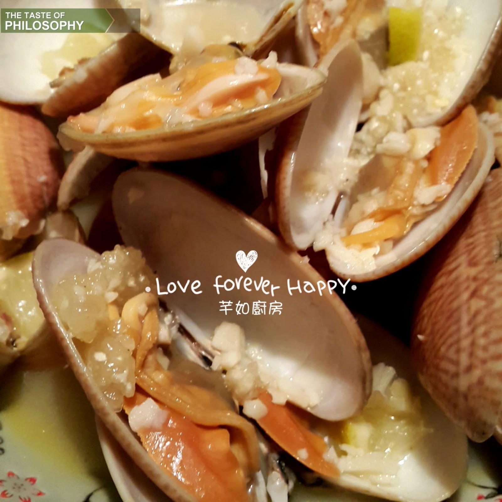 芊如廚房 (Chin Yu Kitchen): 檸檬牛油煮蜆