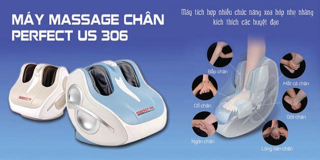 Máy massage chân giá rẻ cải thiện sức khỏe vô giá của bạn