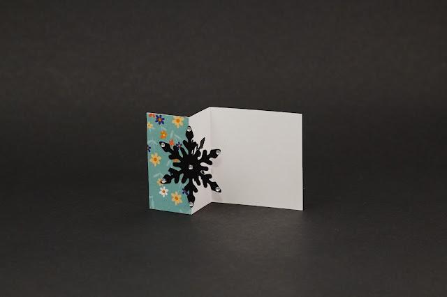Half cut card: Navidad