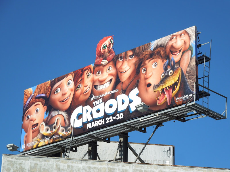 Croods special extension movie billboard