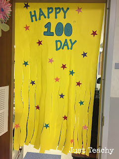 100th Day of School, www.justteachy.blogspot.com