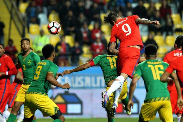 Chile y Jamaica en partido amistoso, 27 de mayo de 2016