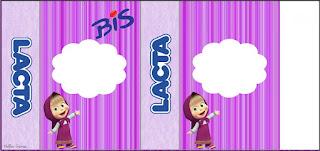 Etiquetas de Masha y el Oso para imprimir gratis.