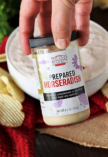 Jar of Prepared Horseradish Image