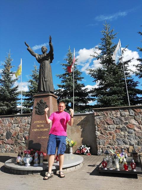 Pomniki Jana Pawła II - Ciechanowiec