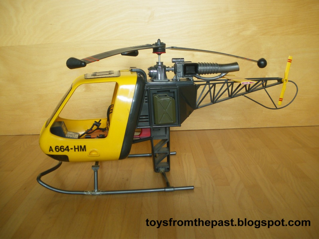 Toys from the Past: #15 MADELMAN - HELICÓPTERO (1975)