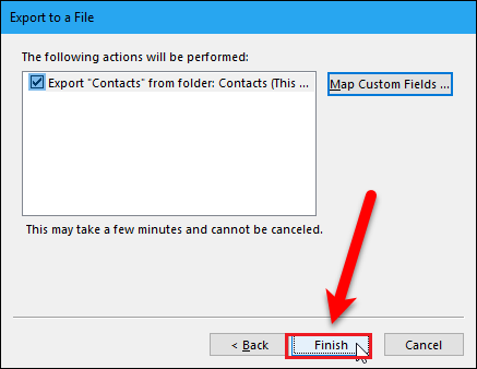 How to Export Outlook Contacts to Gmail Using Import-Export