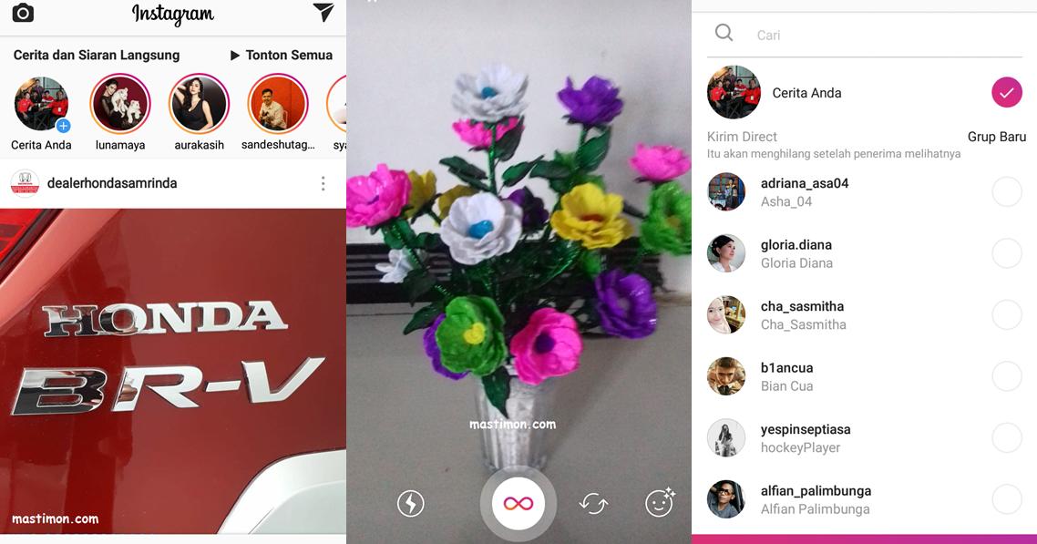 Cara membuat gambar bergerak di Instagram menggunakan