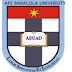 ABUAD 2016-2017 Matriculation Ceremony Schedule Out