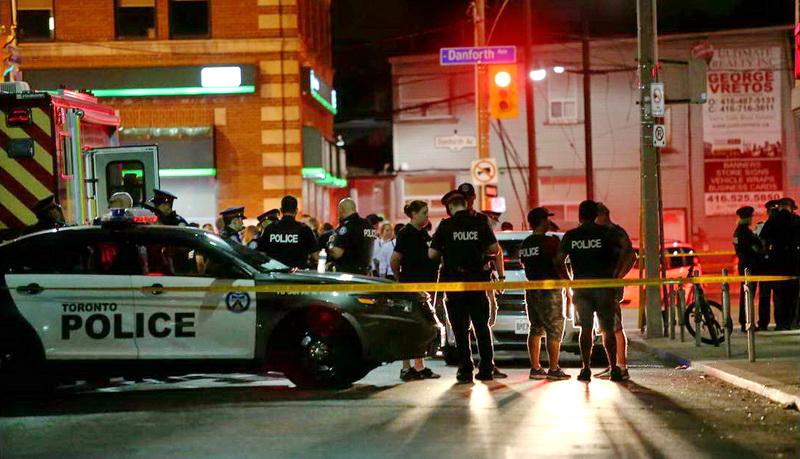 Αιματηρή επίθεση στην ελληνική συνοικία του Τορόντο