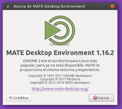 Acerca de MATE 1.16.2