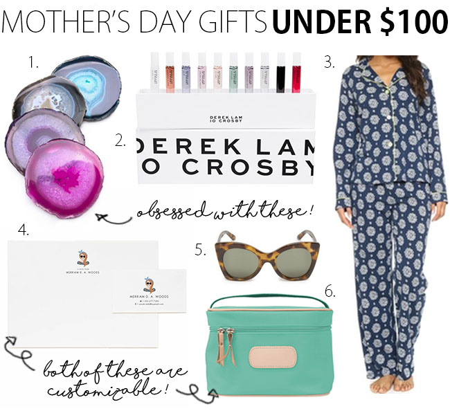 Mother's Day Gift Guide 2016 Under $100 | www.thebellainsider.com