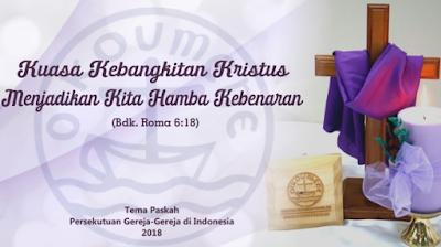 Contoh Banner Paskah terbaru 2019