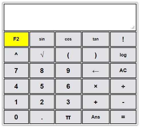 Kalkulator Online Matematika (Scientific)