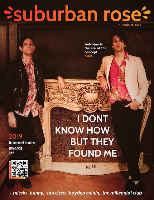 iDKHOW I DONT KNOW HOW BUT THEY FOUND ME Suburban Rose Magazine Issue 5
