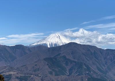 展望台から見える富士山