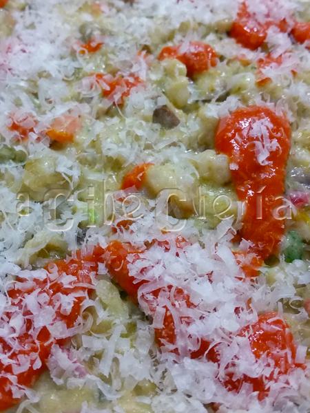 Lasaña de verduras y trigo mote, otra forma de comer verduras francamente espectacular