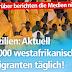 Die deutschen Leitmedien berichten nicht: Pulverfass Sizilien: 2000 afrikanische Migranten täglich