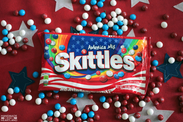 Fourth of July Skittles Cream Soda Recipe
