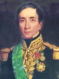 Dibujo de Andrés de Santa Cruz a colores