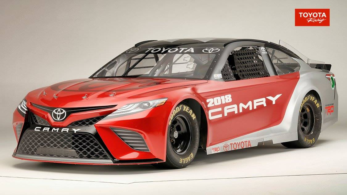 New Toyota Camry Gets Its 5 9-Liter Pushrod V8 For NASCAR | Carscoops