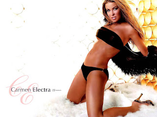 Carmen Electra Extremely Hot Lingerie