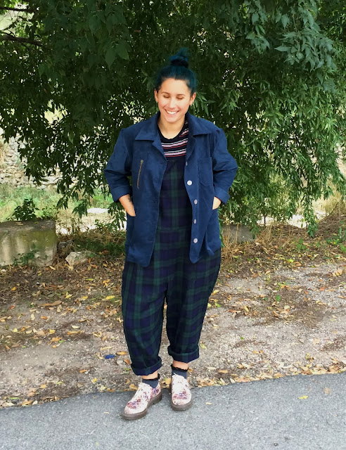 Minerva Crafts Guest Post - Toast Inspired Work Wear Jacket | Lucky Sew and Sew