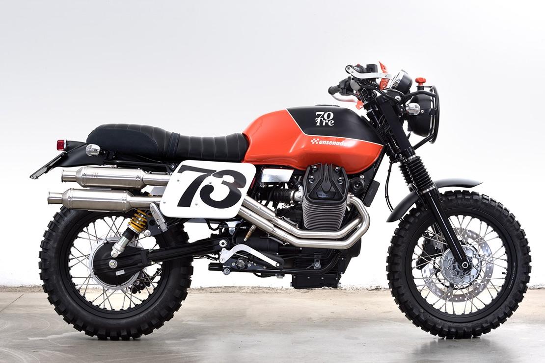 Moto Guzzi V7 II Ensenada