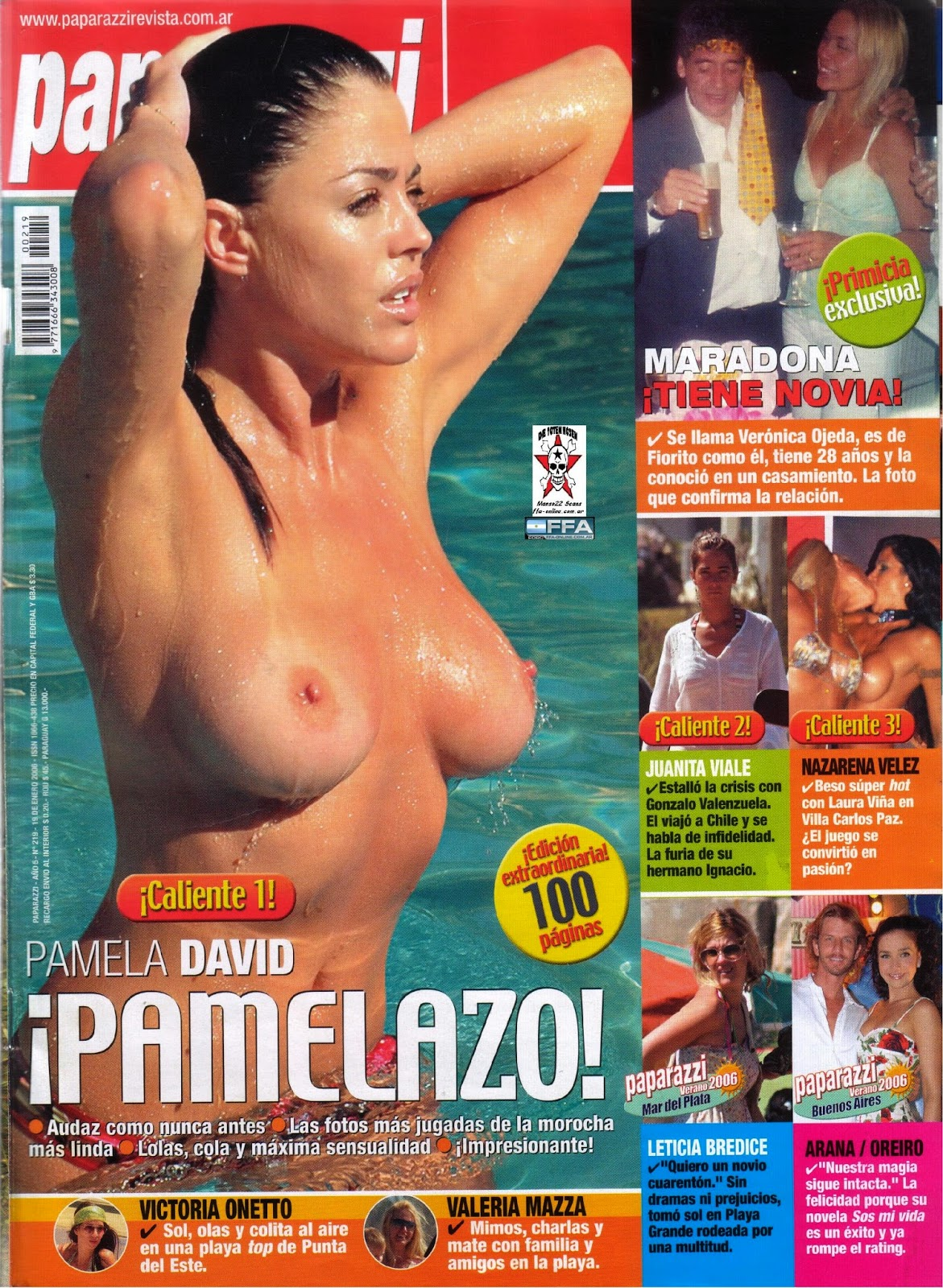 Pamela David Play Boy