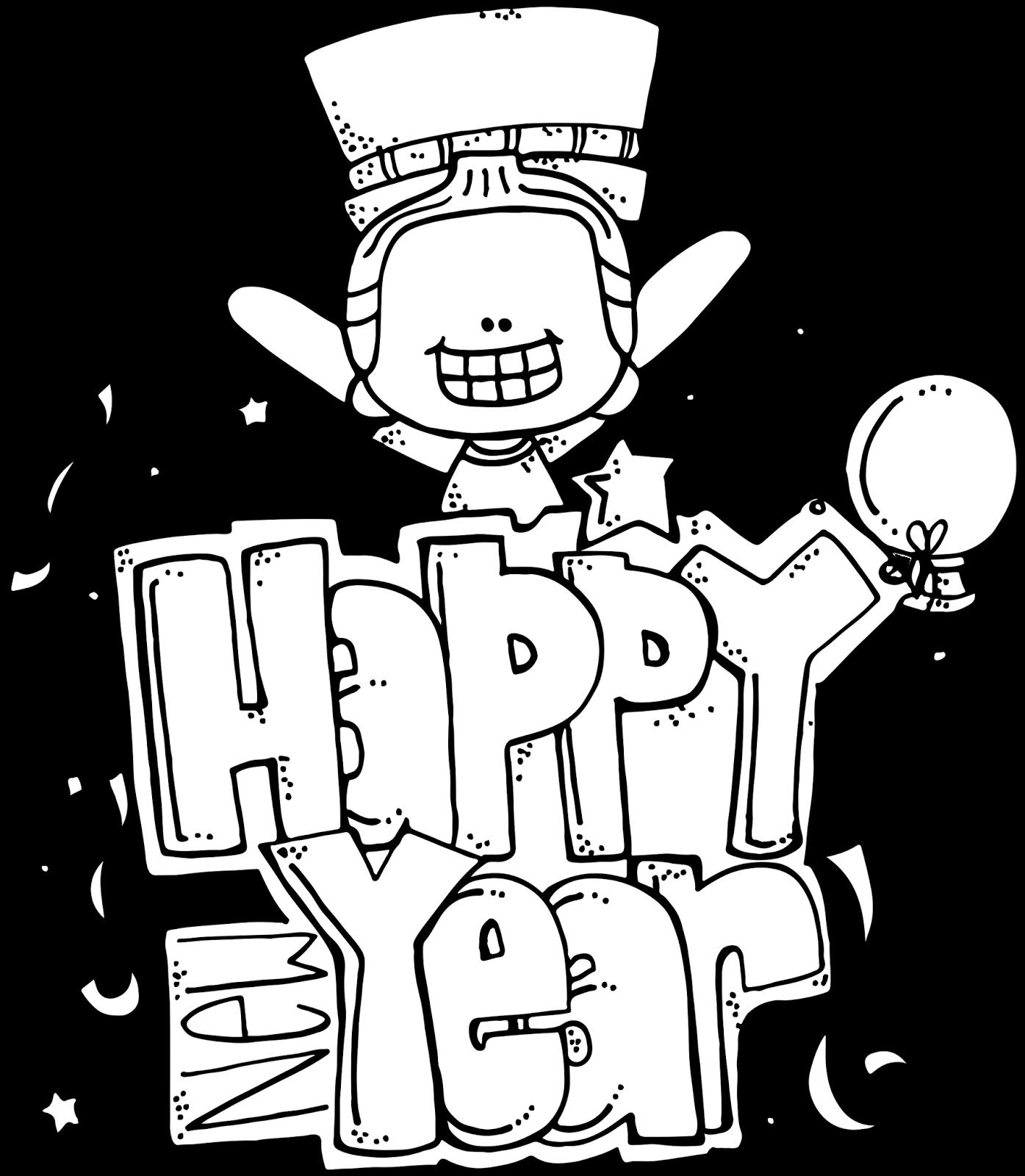Melonheadz Happy New Year Freebie