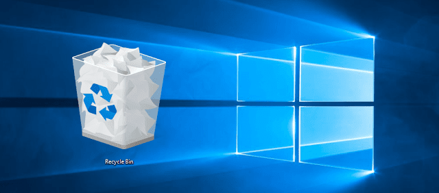 Cara Menghilangkan Shortcut Recycle Bin di Windows 10