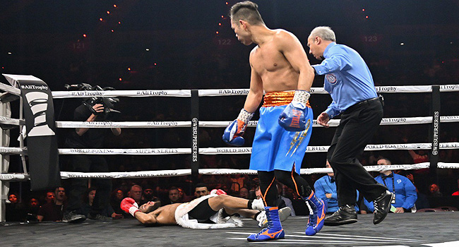 Nonito Donaire BRUTAL KO of Stephon Young (VIDEO)