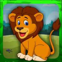 Games4Escape Cute Lion Rescue Walkthrough