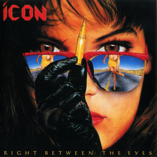 ICON - Right Between The Eyes [Wounded Bird Records remaster] full