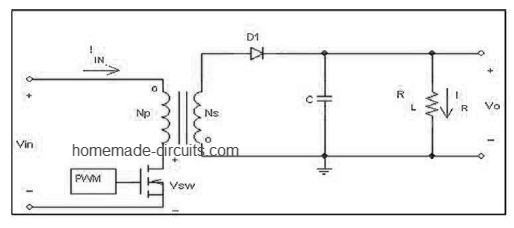 how to design a flyback converter