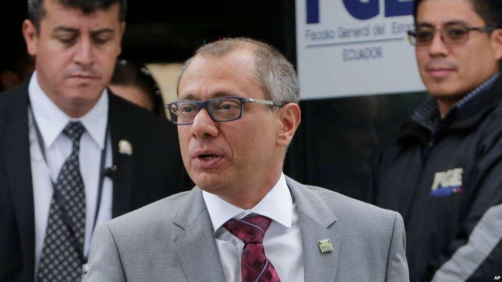 Reemplazo de Glas podría dar respaldarazo político a administración de Moreno / AP