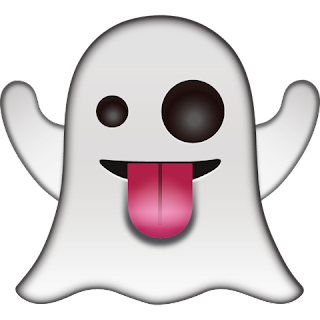 WhatsApp Ghost Emoji