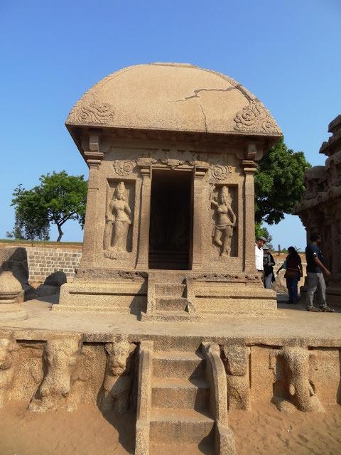 Mahabalipuram Monolithic Stone Chariots - Draupathi Ratha