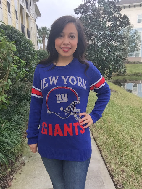 new york giants outfit