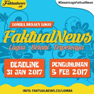 Lomba Desain Logo FaktualNews