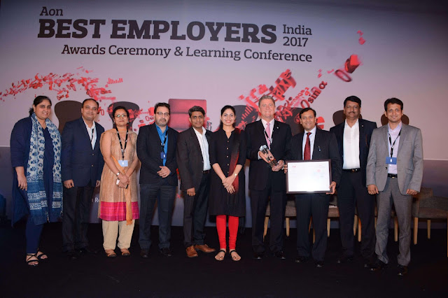 Bayer wins 'Best Employer in India 2017' Award