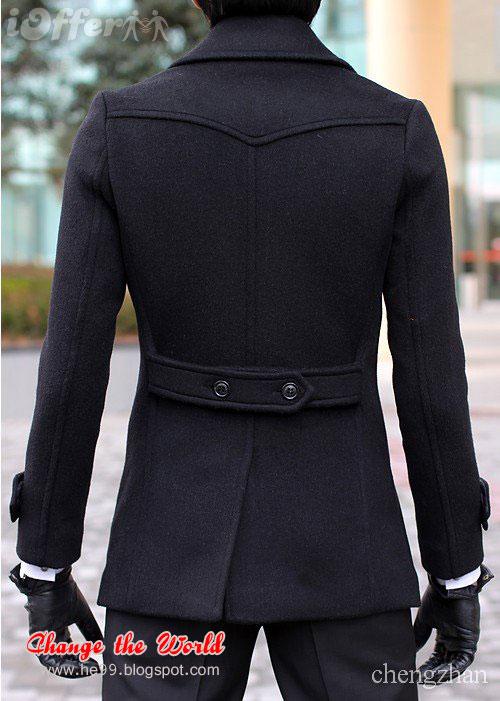 Men S Trench Coats Long Wear Big Collar Coats B Amp G