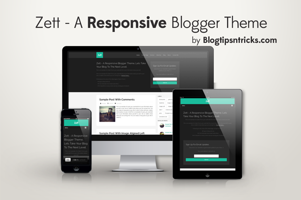 zett blogger template