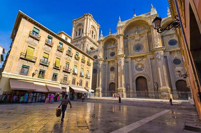 Centro turístico de Granada