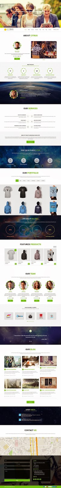 Free Best Shopify Theme 2015