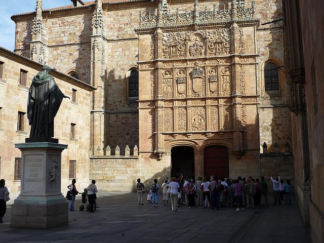 Turismo Idiomático Aprender Viajando: Turismo Por Salamanca: El Cetro Del Turismo Idiomático En