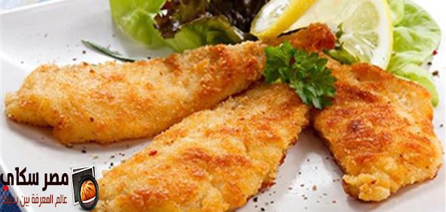 السمك البكلاه بالبقدونس وطريقة التحضير